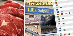 Arbetarbladets granskning visar att svenskt kött är förhållandevis ovanligt på lunchrestaurangerna. Det bekräftas också av grossister där flera uppger att 80-90 procent av köttet som säljs till restauranger är importerat. Hos andra är andelen 60-70 procent.