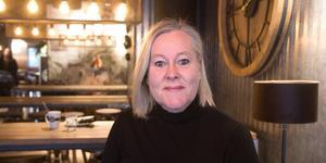 Solveig Sigridsdotter Törnblom är en av författarna man kan få träffa i Västerby bygdegård den 26:e februari