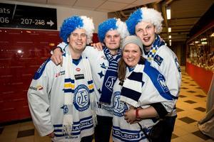 Rikard Pächos, Furuviken, Fredrik Pedersen, Falun, Mathias Rosén, Stora Skedvi och Johanna Nygren från Borlänge trodde att det skulle bli en enkel vinst.