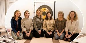 Johanna Lagerberg, Martina Höiem, Jennie Gellerstam, Linda Elsén, Kristin Indergård och Unn Tjernberg Dickens ger olika behandlingar på Paus i Åre.
