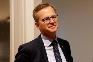Under onsdagen var närings-och innovationsministern Mikael Damberg (S) på besök i Avesta.