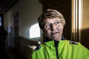 Kopparstadens projektledare, Ingrid Forssell, har mycket arbete kvar efter att hyresgästerna hämtat ut sina nycklar.