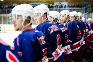 Hela Kovlandsbänken var uppe när laget hade power play i den andra perioden.