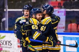 SSK hade mängder av anledningar att jubla mot AIK. Bild: Maxim Thoré, Bildbyrån.