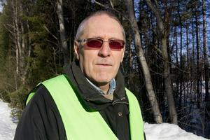 Per Folkeson, administrativ chef hos Missing People har deltagit i sökandet efter Velmira.