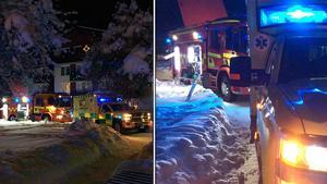 Under onsdagskvällen utbröt en brand i ett lägenhetshus på Herrhagen i Falun.