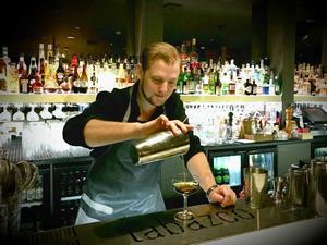 Simon Karlsson, Tabazco, barchef. Bild: Privat
