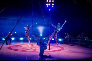 Det kubanska akrobatikkollektivet Compania Havana.