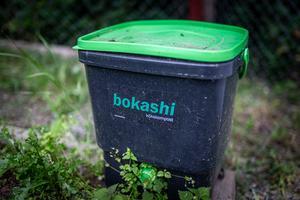 Bokashi, en japansk kompost, som med hjälp av
