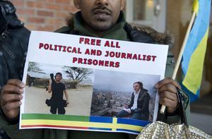 Efter 14 månader i fängelse har Martin Schibbye och Johan Persson nu benådats.