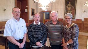 Representanter för de olika partierna i Arbogas