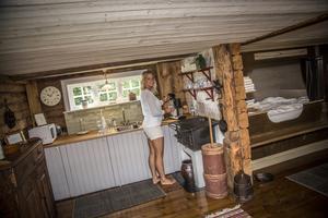 Sviten. Mats Persgårdens lyxigaste rum har eget kök och badrum.