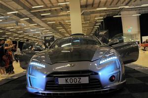 Fronten på Bond-bilen 00Z.