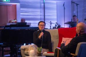 Journalisten och författaren Tina Westerlund var en av gästerna.