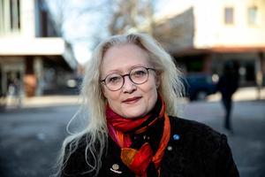 Agneta Nyvall jobbar för ett alliansstyre i Borlänge – med passivt stöd från SD.