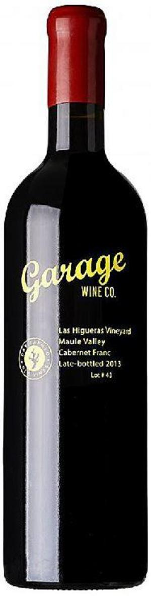 Garage Wine Maule Valley Cabernet Franc 2013.