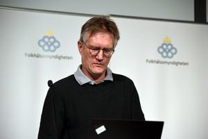Anders Tegnell, statsepidemiolog, Folkhälsomyndigheten. Foto: Simon Samuelsson / TT