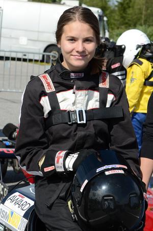 Wilma Andersson, Näsviken, slutade tvåa i SM-serien.