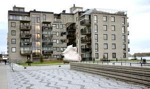 Fregattgatan, Norra kajen, toppar listan på bostadsrätter. En lägenhet kostar 41 359 kronor/kvadratmeter.