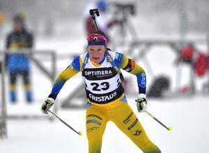 Johanna Skottheim tog sin första seger i IBU-cupen i helgen.