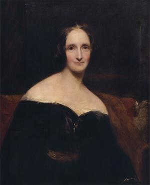 Mary Shelley 1840. Målning av Richard Rothwell.