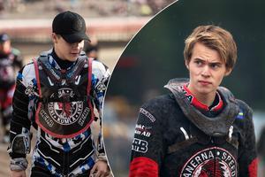 Både Christoffer Selvin och  Jonatan Grahn finns med i laguppställningen när Indianerna möter Västervik på tisdag.