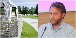 Långliggarna på Farstanäs camping har varit en fråga för myndigheterna under flera år. Lars Greger är nöjd med den senaste domen.
