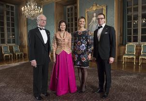 Sverigemiddagen på Stockholm slott 2013 med anledning av  kung Carl XVI Gustafs 40 år på tronen. Gästerna  bestod av utvalda länsrepresentanter samt Sveriges alla landhövdingar.Foto:Jonas Ekströmer