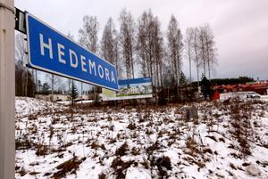 Det växer upp en helt ny stadsdel i Lilla Källviken. Men enligt säkra källor heter den inte Hedemora.
