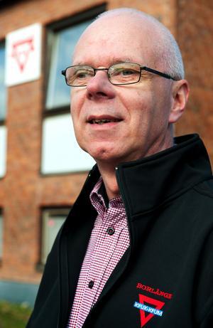 Bo Nyman, föreningschef i KFUM Borlänge sedan 1991.
