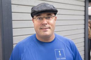 46-årige pastorn Samuel Stengård har chans att få en riksdagsplats.