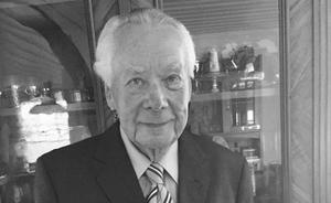 Gunnar Grahnström 1923–2019. Foto: Privat