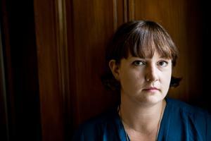 Jessica Schiefauer skriver just nu på sin första roman för vuxna. Foto: Christine Olsson/TT Arkivbild
