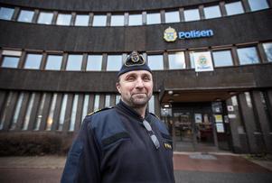 Peter Karlsson på Polisen Dalarna sitter med i den styrgrupp som siktat in sig på att Borlänge om några år ska ha ett nytt polishus.