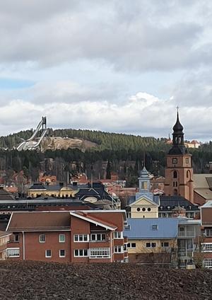 Utsikt från Hyttberget.