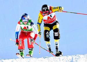 Sandra Näslund fortsatte på den inslagna vägen i världscupen.