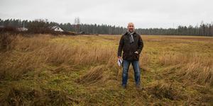 Kommunen studerar hela norra åkern invid Ekeby för att se vad som kan byggas, sade Johan Schönbeck när han berättade om byggplanerna i LT.
