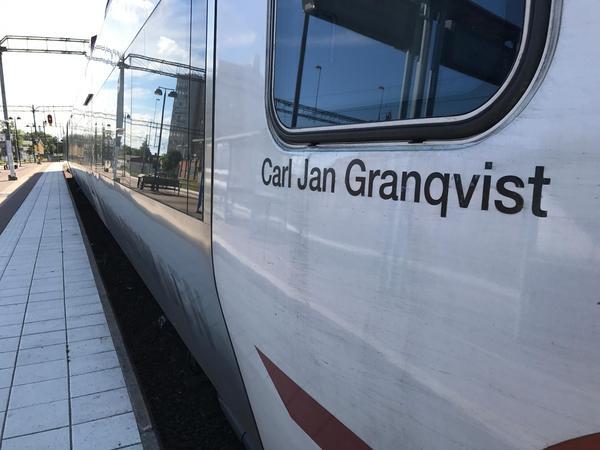 Ett av Tåg i Bergslagens tåg på Bergslagspendeln kom aldrig iväg från Västerås under tisdagsmorgonen på grund av fordonsskada. Bilden är tagen vid ett tidigare tillfälle.