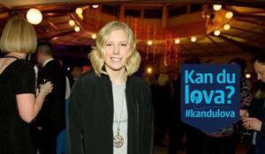 Sandra Näslund, årets ambassadör, Kramfors företagsgala 2017