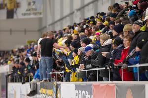I derbyt mot Bollnäs noterades den högsta publiksiffran under säsongen Helsingehus arena.