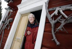 – Det var min farfar som byggde den här gården, berättar Alvar Johnsson.FOTO: BENGTERIC GERHARDSSON