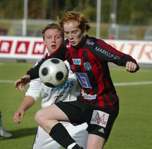 Martina Sandström inledde målskyttet mot Sätra. Till slut blev det seger för ÖDFF med 4–0 på bortaplan. Arkivbild