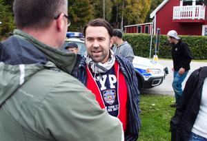 Inte heller ungdomspolisen Mattias Fredlund hade fram till fredagen inte märkt någon konstig stämning på Bergviksskolan jämfört med andra skolor.