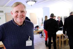 Krister Johansson leder projektet för Trafikverkets räkning.