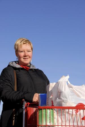 Carina Gunnarsson från Köping.