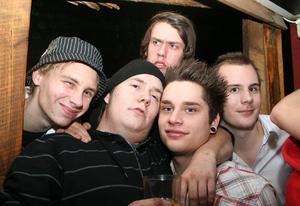 Konrad. Simon, Robin, John, Hampus och Jocke