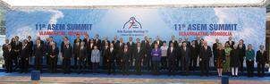 Familjeporträttet på toppmötet, hittar ni Fridolin?