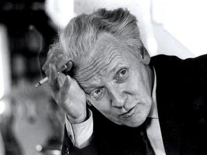 Författaren och Stockholmsskildraren Per Anders Fogelström, 1970.
