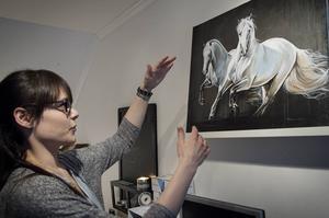 Rebecca Crossons favoritras är de andalusiska PRE-hästarna, hon tilltalas av rasens utstrålning och rörelsemönster.