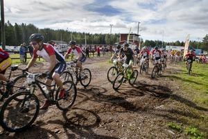 MTB-tävlingen Hälsingebocken 2016 arrangerad av Söderhamns cykelamatörer och Hälsinglands Multisport.